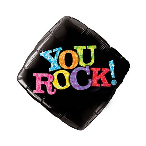You Rock! (18in Mylar Diamond)