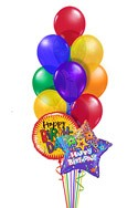 Classic Birthday Balloon Bouquet (14 Balloons) delivered in Mesa