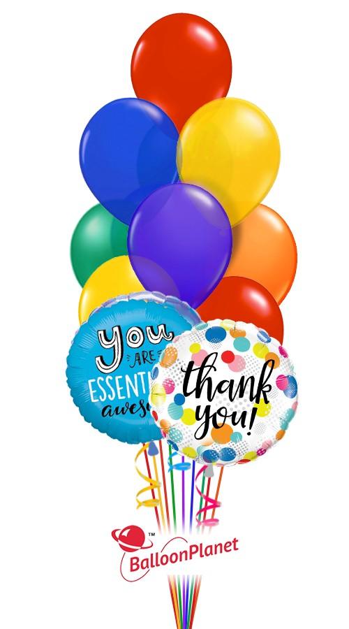 Bosss Day Balloon Bouquet 12 Balloons