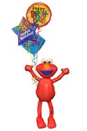 Elmo Airwalker Balloon Bouquet (4 Balloons) delivery in New Delhi