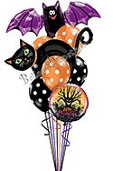 Halloween Balloon Bouquet (8 Balloons) delivery in Las Vegas