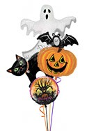 Halloween Balloon Bouquet (4 Balloons) delivery in Las Vegas