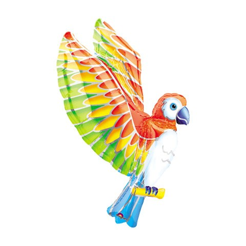 Mylar Balloon Shape (Parrot Extended Wings)