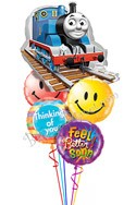Thomas the Train Balloon Bouquet (5 Mylars) delivered in Fremont