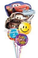 Disney Cars Balloon Bouquet (5 Mylars) delivered in Nashville