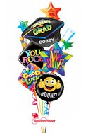 Grad Cap Balloon Bouquet Balloon Bouquet