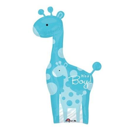 Safari Baby Boy Giraffe<br/>Balloon