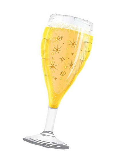 Champagne Glass (Design may vary)