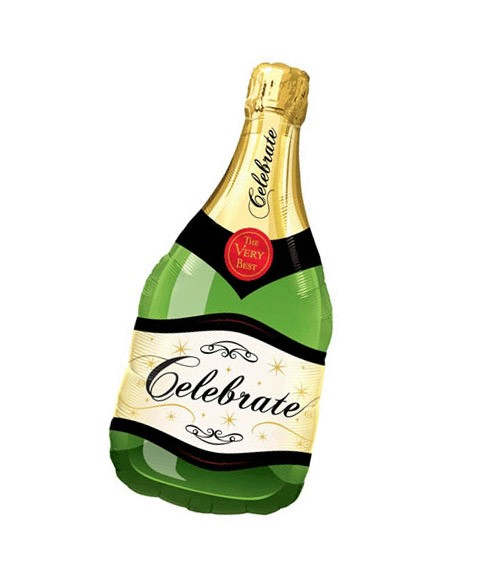 Champagne Bottle (Design may vary)