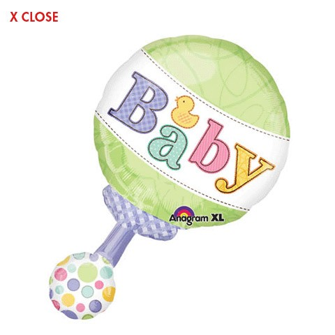 Baby Rattle<br/>Balloon