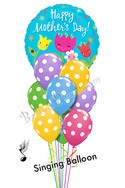 Mother's Day Singing Balloon Bouquet (10 Balloons) delivery in Charlotte