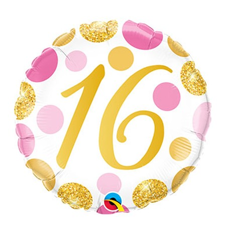 Age Sweet 16<br> Round Balloon