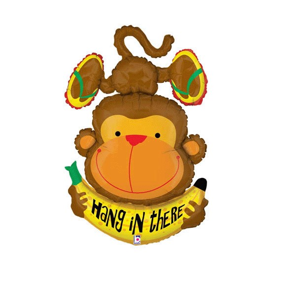 Hang in There<br> Monkey Balloon