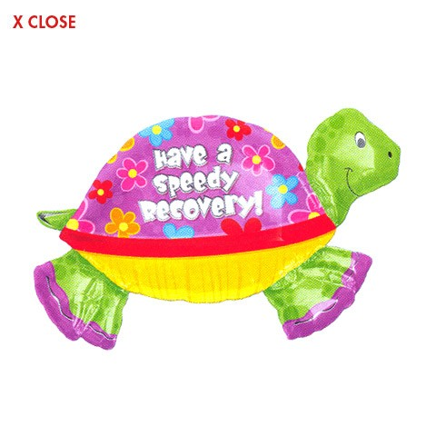 Speedy Recovery<br> Turtle Balloon