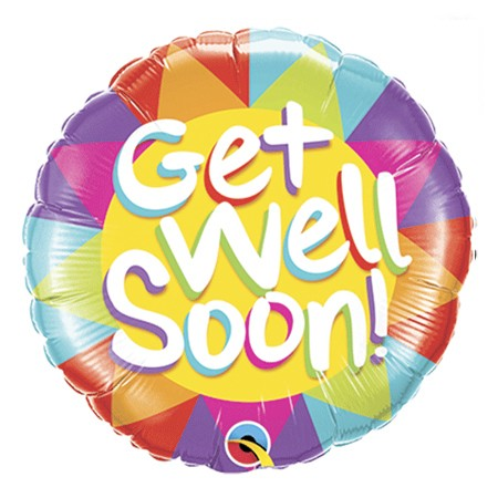 Get Well<br> Balloon(Design may vary)