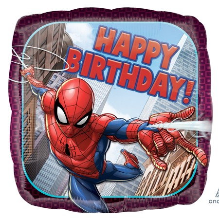 Spiderman Birthday<br> Balloon(See Substitution Info)