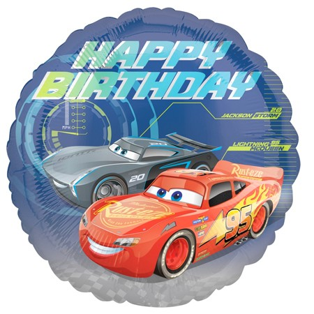 Disney Cars Birthday<br> Balloon(See Substitution Info)