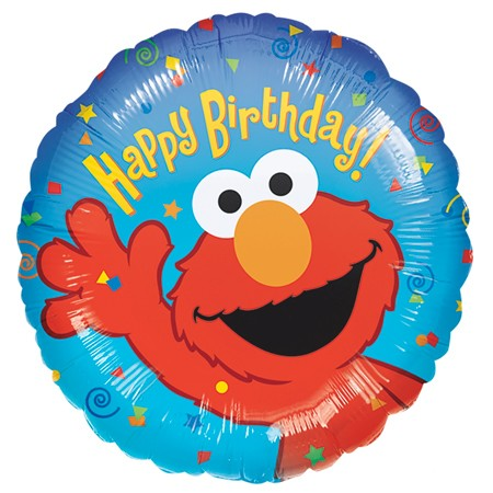 Elmo Birthday<br> Balloon(See Substitution Info)