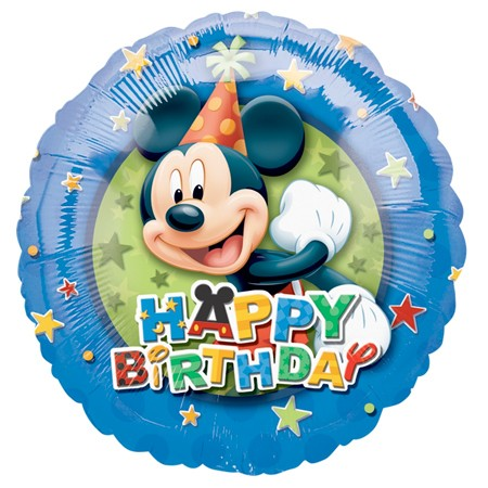 Mickey Birthday<br> Balloon(See Substitution Info)