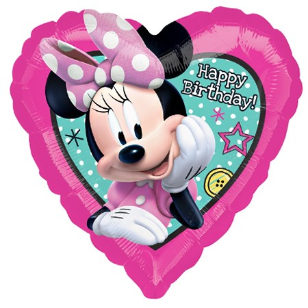 Minnie Birthday<br> Balloon(See Substitution Info)