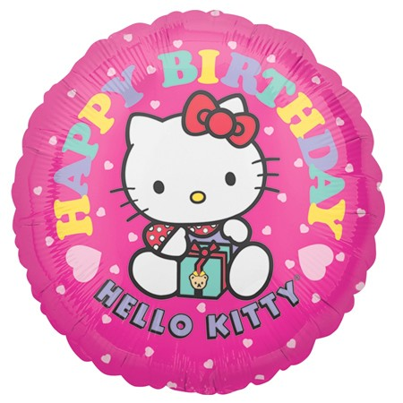 Hello Kitty Birthday<br> Balloon(See Substitution Info)