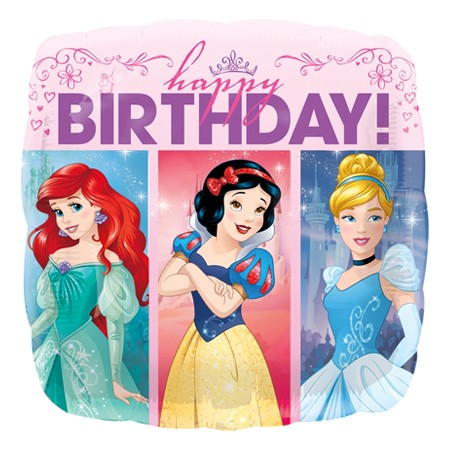 Disney Princess Birthday<br> Balloon(See Substitution Info)