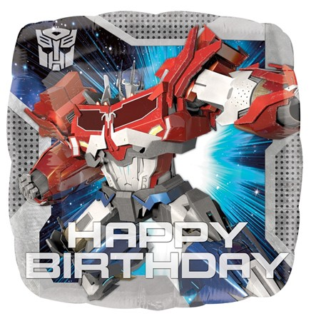 Transformers Birthday<br> Balloon(See Substitution Info)