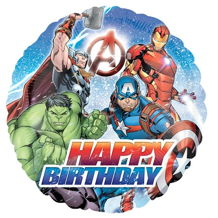Avengers Birthday<br> Balloon(See Substitution Info)