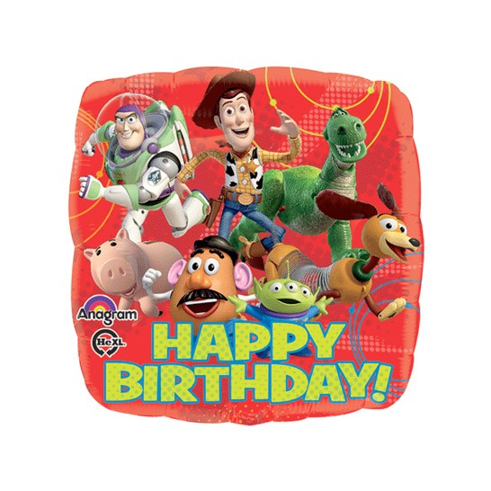 Toy Story Birthday<br> Balloon(See Substitution Info)