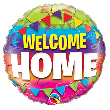 Welcome Home! Balloon Item SMB 287