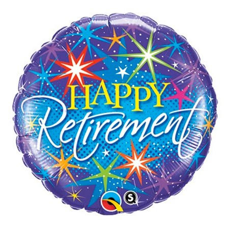 Happy Retirement<br> Balloon (View sub info)