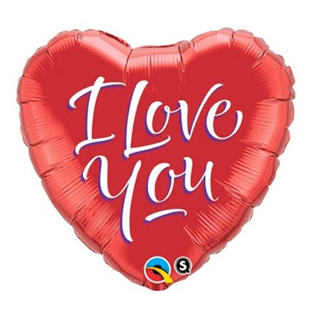 I Love You<br> Balloon (Design may vary)