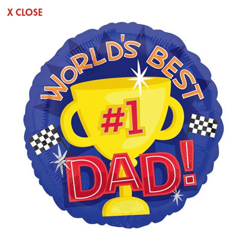 World's Best Dad<br>(design may vary)