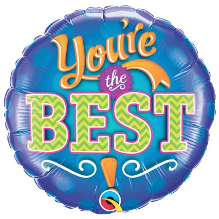 You're The Best!<br>(Design may vary)