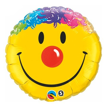Smiley Face Clown<br> Balloon