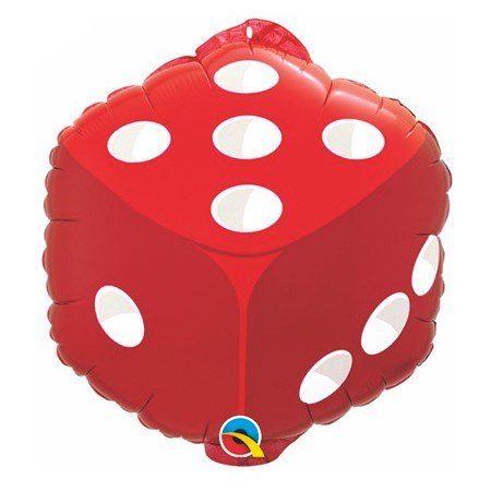 Red Dice<br> Balloon