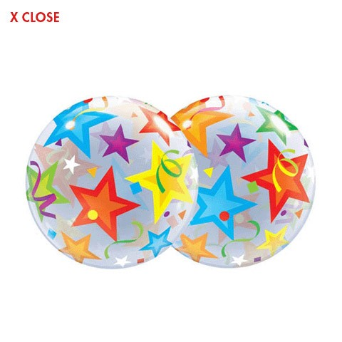Brilliant Stars<br> Bubble Balloon