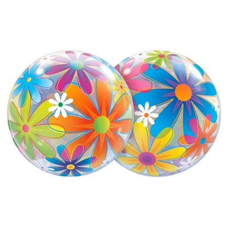 Fanciful Flowers<br> Bubble Balloon