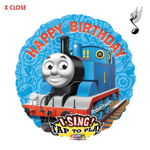 Thomas the Train<br> Singing Balloon