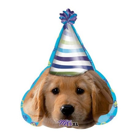 Party Pup<br> Birthday Balloon