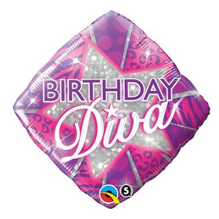 Birthday Diva<br> Balloon