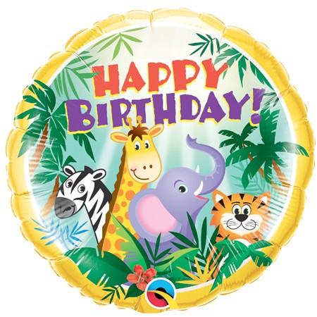 Wild Kingdom<br> Birthday Balloon