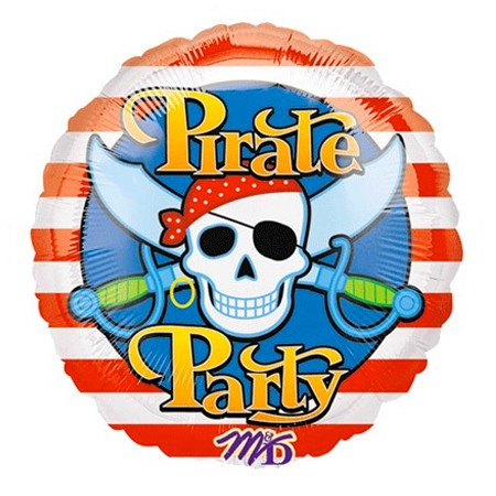Pirate Party<br> Balloon