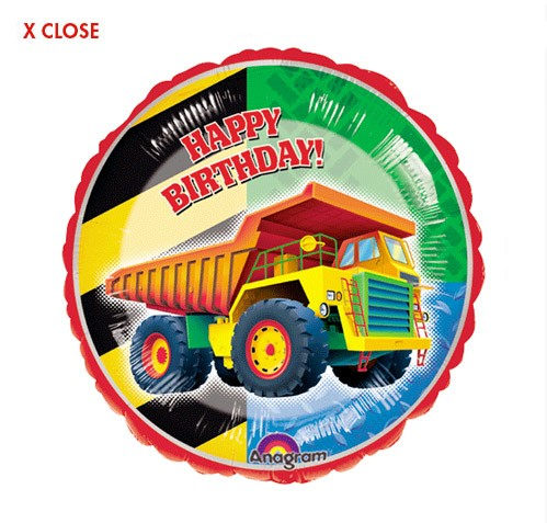 Keep on Truckin<br> Birthday Balloon