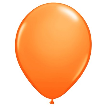 11in Mandarin Orange<br> Latex Balloon(Click for Float Time)
