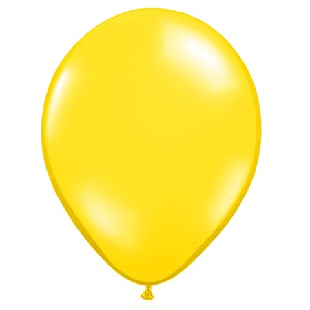 11in Citrine Yellow<br> Latex Balloon(Click for Float Time)