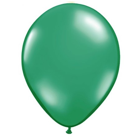 11in Emerald Green<br> Latex Balloon(Click for Float Time)