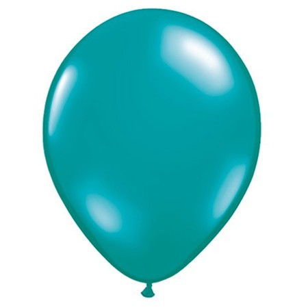 11in Jewel Teal<br> Latex Balloon(Click for Float Time)