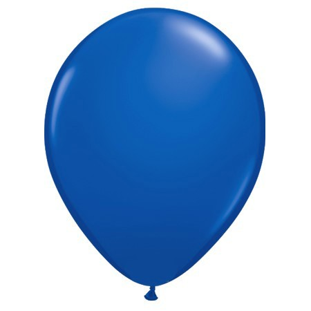 11in Sapphire Blue<br> Latex Balloon(Click for Float Time)