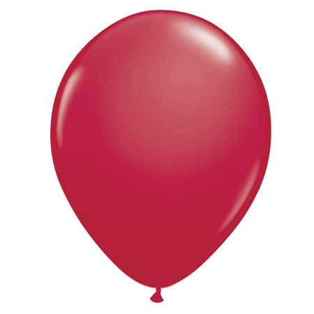11in Sparkling Burgundy<br> Latex Balloon(Click for Float Time)